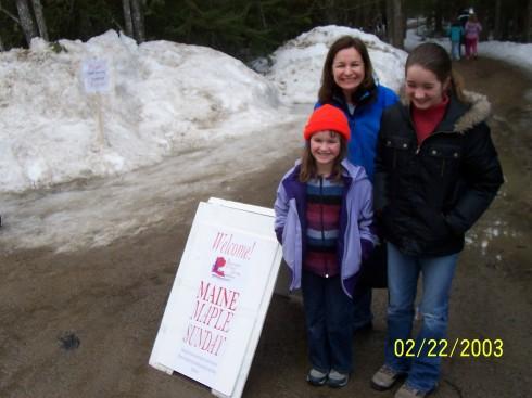 Maine Maple Sunday Sign